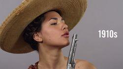 멕시코 여인의 스타일