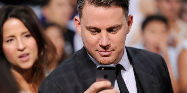 Channing Tatum arrives at the premiere