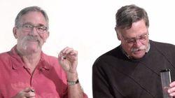 마리화나를 하는 세 명의 전직