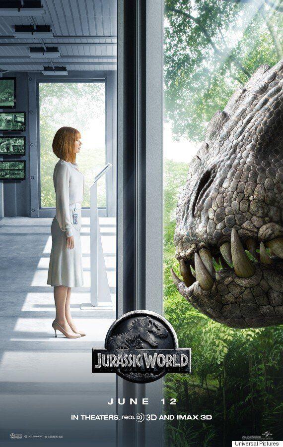 영화 '쥬라기월드', 새로운 예고편과 티저 포스터