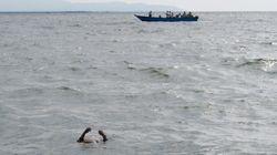 리비아 해안서 난민선