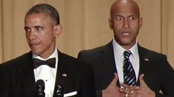 오바마, 코미디언을 분노 통역사로