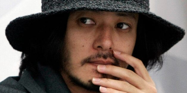 Japanese actor Odagiri Joe attends a press conference in the Busan International Film Festival at Busan...