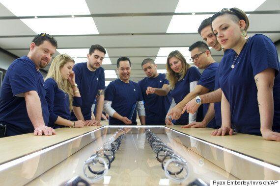 애플워치 판매 시작 : 앱스토어도