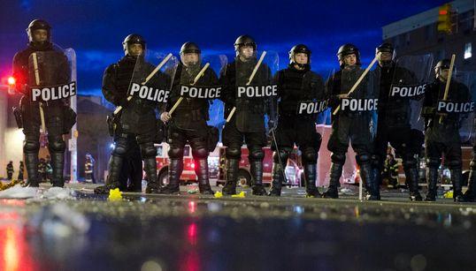 미국 볼티모어에서 대규모 폭동 (사진,
