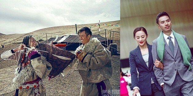 중국을 사로잡은 티베트 커플의 웨딩