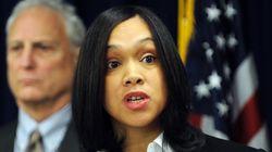 볼티모어 경찰 기소한 35세 흑인 여자
