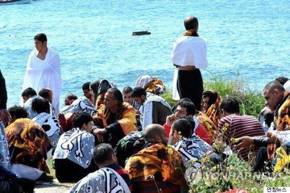 그리스 해상서 난민선 조난...최소 3명