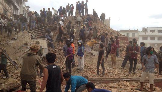 [업데이트] 네팔 강진 : 대규모 희생자 발생