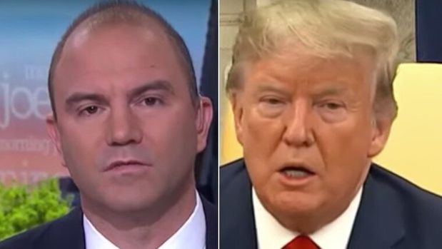 Ben Rhodes and Donald Trump