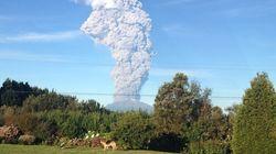 칠레 칼부코 화산