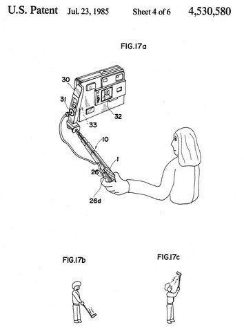 세계 최초로 특허를 받은 셀카봉의