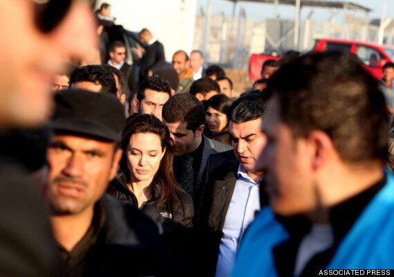 졸리, 시리아 난민문제 해결 못하는 유엔 안보리를