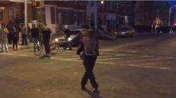 볼티모어 폭동의 한가운데서 마이클 잭슨의 Beat It을