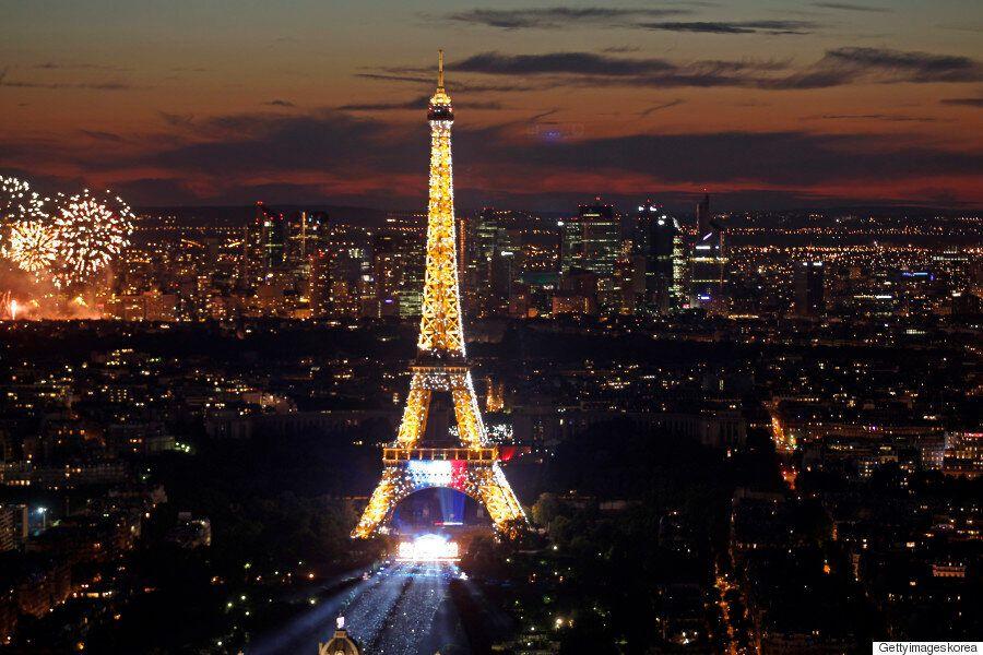 프랑스 파업 : 에펠탑도 문
