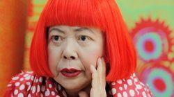쿠사마 야요이, 세계에서 가장 유명한 미술가로