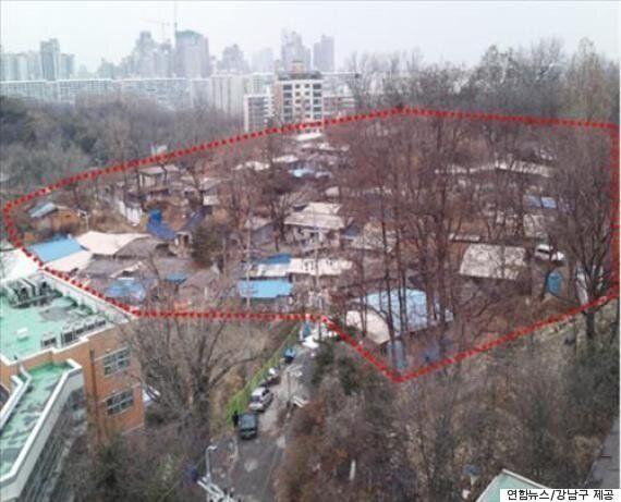 '30년 판자촌' 강남 달터마을 2017년까지