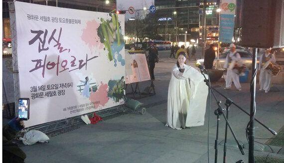 광주비엔날레 홍성담과 에르메스 미술상 장민승 그리고 세월호