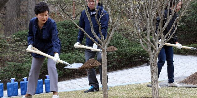 박 대통령, 식목일 맞아 무궁화