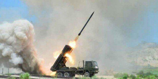 작년 7월 15일 노동신문이 보도한 북한 제171군부대의 포 실탄사격 훈련