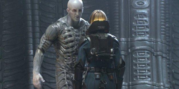 영화 '프로메테우스'의 외계인