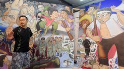 '박근혜 풍자 그림' 독일 전시 무산된