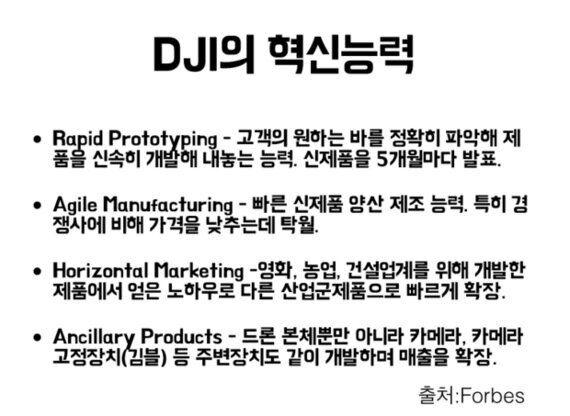 '드론계의 애플' DJI - 팬텀 3를