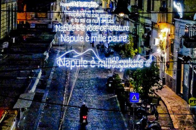 Le luminarie di Rione