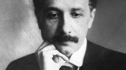아이슈타인이 첫사랑에 쓴 연애편지