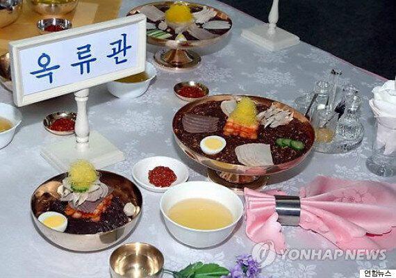 북한서 냉면 최고 맛집 경쟁