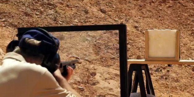 총알을 막아주는 디저트가 있다.