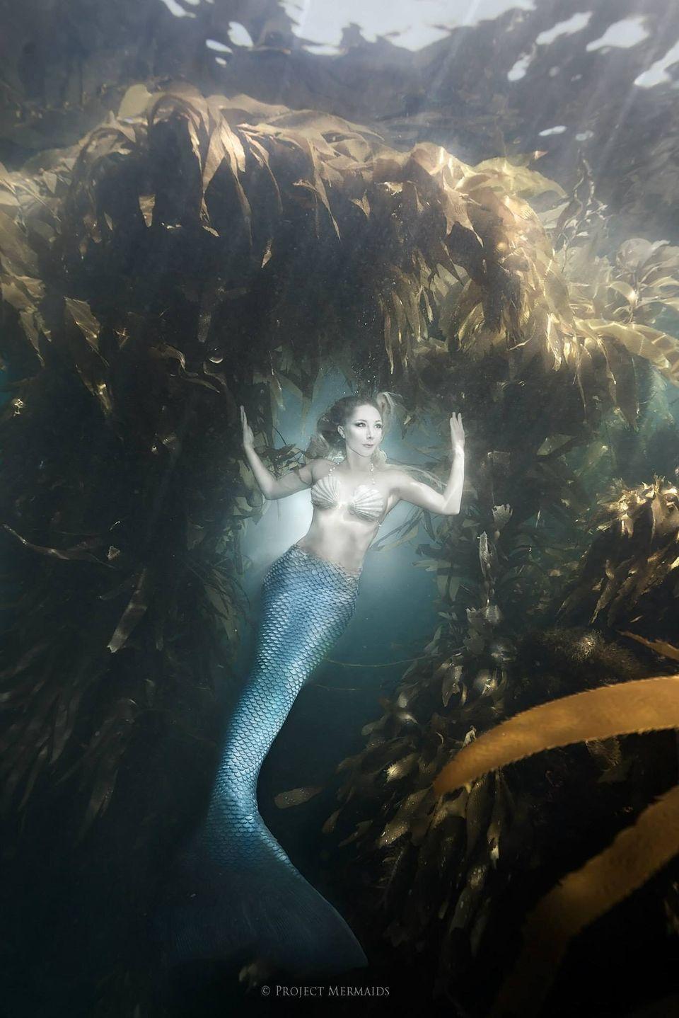 바다를 지키기 위해 인어가 된