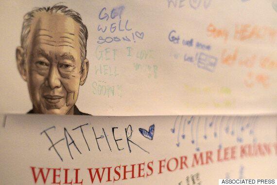 '싱가포르 국부' 리콴유 전 총리는