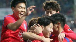 축구대표팀 평가전 : 우즈베키스탄과 1-1