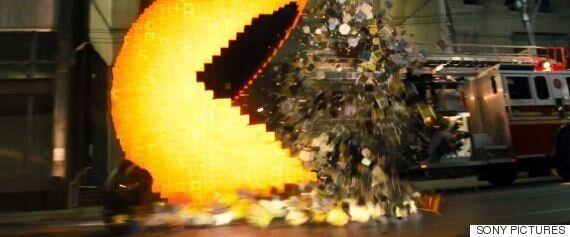 고전게임의 지구 공습! 영화 '픽셀'의 새로운 트레일러가