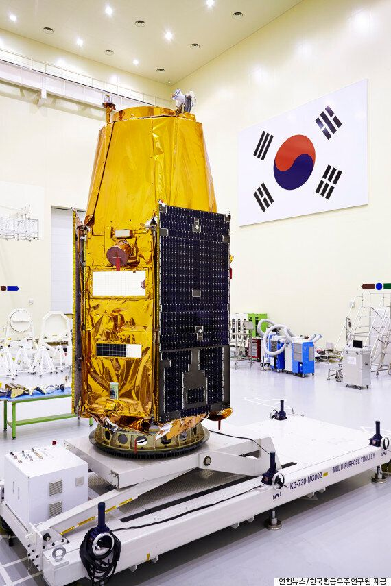 위성 아리랑 3A호, 정상궤도