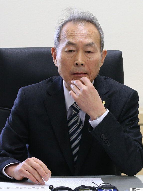 세월호특위 위원장, 박근혜 대통령 면담