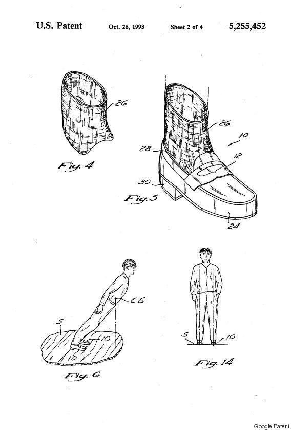 마이클 잭슨, '무중력 댄스'를 위해 신발 특허를