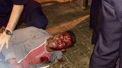 버지니아 주, 흑인 대학생 체포 중 얼굴