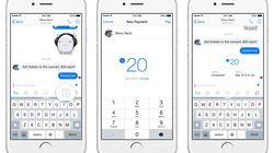 페이스북, 메신저에 송금 기능