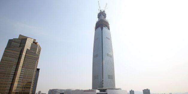 롯데월드, 세계 10위 초고층빌딩