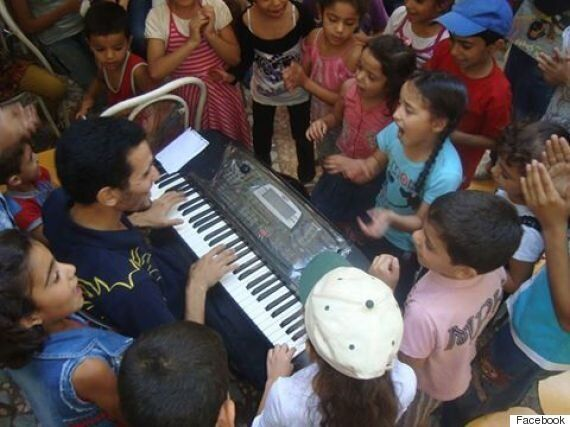시리아의 피아노맨은 전쟁을