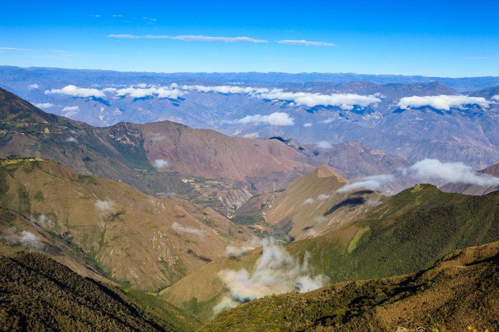 Το φαράγγι Μαρανιόν στο βόρειο Περού