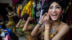 중국 드랙퀸의 놀라운 모습을