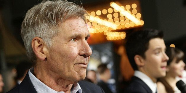 Harrison Ford seen at Summit Entertainment's Los Angeles Premiere of 'Ender's Game', on Monday, Oct,...