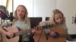 어린 자매가 편곡한 '아임 유어즈'