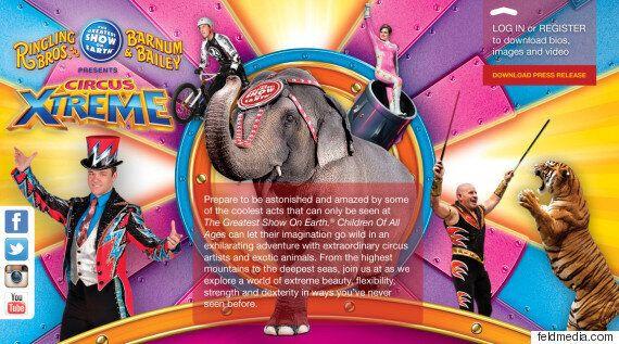 '100년 전통' 미국 코끼리 서커스 2018년