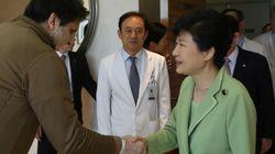 리퍼트 대사 만난 박 대통령,