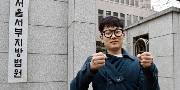 '병역거부' 영화감독 김경묵, 재판에서