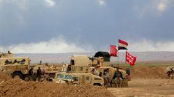 이라크군, IS 장악 티크리트 인근